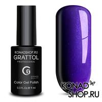 Гель-лак Grattol Color Gel Polish  - тон №87 Bilberry