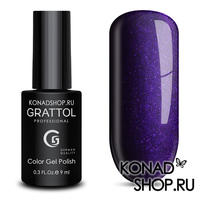 Гель-лак Grattol Color Gel Polish  - тон №91 Shining Purple