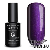 Гель-лак Grattol Color Gel Polish  - тон №92 Shining Plum