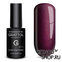Гель-лак Grattol Color Gel Polish  - тон №93 Dark Sangria