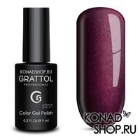 Гель-лак Grattol Color Gel Polish  - тон №93 Dark Sangria