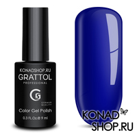 Гель-лак Grattol Color Gel Polish  - тон №96 Ultra Blue