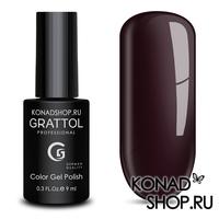 Гель-лак Grattol Color Gel Polish  - тон №97 Rouge Noir