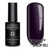 Гель-лак Grattol Color Gel Polish  - тон №98 Dark Eggplant