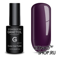 Гель-лак Grattol Color Gel Polish  - тон №99 Dark Plum
