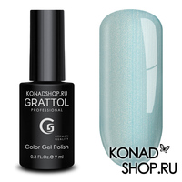 Гель-лак Grattol Color Gel Polish - тон  №123 Blue Pearl