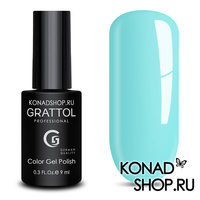 Гель-лак Grattol Color Gel Polish - тон  №124 Aquamarine
