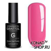 Гель-лак Grattol Color Gel Polish - тон  №128 Hot Pink