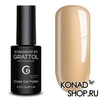 Гель-лак Grattol Color Gel Polish - тон  №132 Coffe Milk
