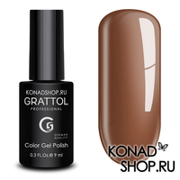 Гель-лак Grattol Color Gel Polish - тон  №138 Coffe Romano