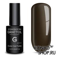 Гель-лак Grattol Color Gel Polish - тон  №143 Black Coffe
