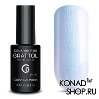 Гель-лак Grattol Color Gel Polish - тон  №160 Azure Pearl