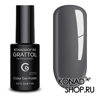 Гель-лак Grattol Color Gel Polish - тон  №172 Titanium