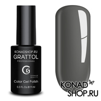 Гель-лак Grattol Color Gel Polish - тон  №173 Graphite