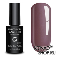 Гель-лак Grattol Color Gel Polish - тон  №176 Smoky Bordeaux