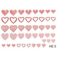 Слайдер-дизайн Nail Dream - Сердца HE5