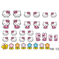 Слайдер-дизайн Nail Dream - Hello Kitty HK13