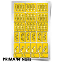 Трафарет для дизайна ногтей PrimaNails. Космос