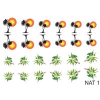 Слайдер-дизайн Nail Dream - Природа NAT1