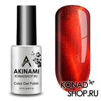 Гель-лак AKINAMI Color Gel Polish - Cat Eye Red