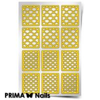 Трафарет для дизайна ногтей PrimaNails. Русалочка