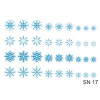Слайдер-дизайн Nail Dream - Снежинки SN17