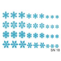 Слайдер-дизайн Nail Dream - Снежинки SN18