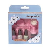 Sponge Set (фиол-зел-бел)