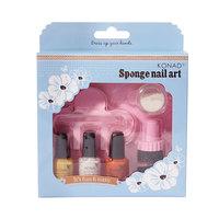 Sponge Set (желтый-оранж-бел)
