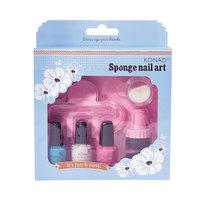 Sponge Set (голуб-роз--бел)