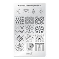 Пластина Square Plate-27