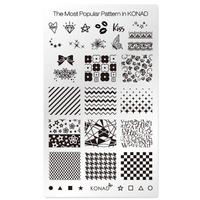 Пластина Square Plate - Popular pattern