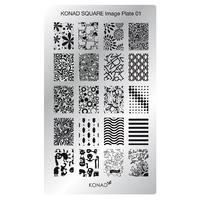 Пластина Square Plate-1