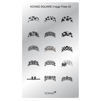 Пластина Square Plate-2