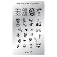 Пластина Square Plate-4