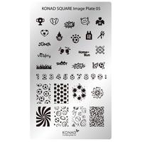 Пластина Square Plate-5