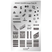Пластина Square Plate-6
