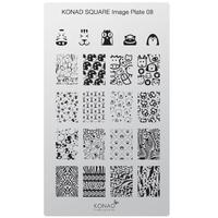 Пластина Square Plate-8