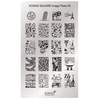 Пластина Square Plate-9