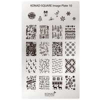 Пластина Square Plate-10