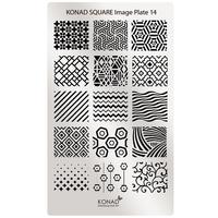 Пластина Square Plate-14