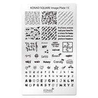 Пластина Square Plate-15