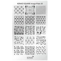 Пластина Square Plate-20