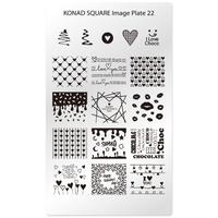 Пластина Square Plate-22