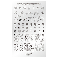 Пластина Square Plate-23