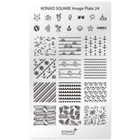 Пластина Square Plate-24
