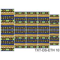 Слайдер-дизайн Nail Dream - Текстура этническая TXT-DS-ETH10