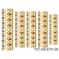 Слайдер-дизайн Nail Dream - Текстура этническая TXT-DS-ETH28