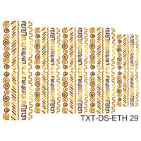 Слайдер-дизайн Nail Dream - Текстура этническая TXT-DS-ETH29