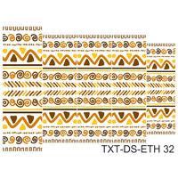 Слайдер-дизайн Nail Dream - Текстура этническая TXT-DS-ETH32